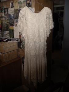 white gatsby dress