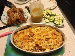 celeriac gratin