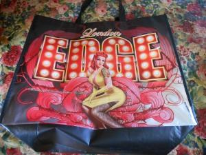 london edge bag